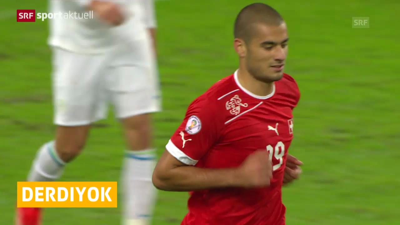 Fussball: Eren Derdiyok mit Kreuzbandriss («sportaktuell»)