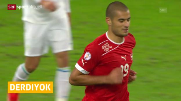 Video «Fussball: Eren Derdiyok mit Kreuzbandriss («sportaktuell»)» abspielen