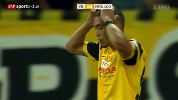 Video «Fussball: CL-Qualifikation, Hinspiel YB - Monaco» abspielen