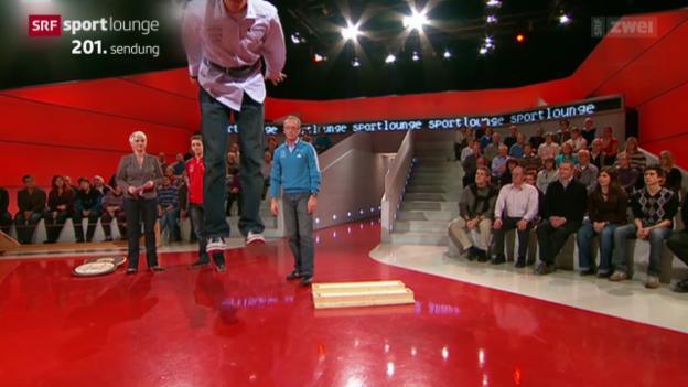 Video «200 Sendungen «sportlounge» in 200 Sekunden» abspielen