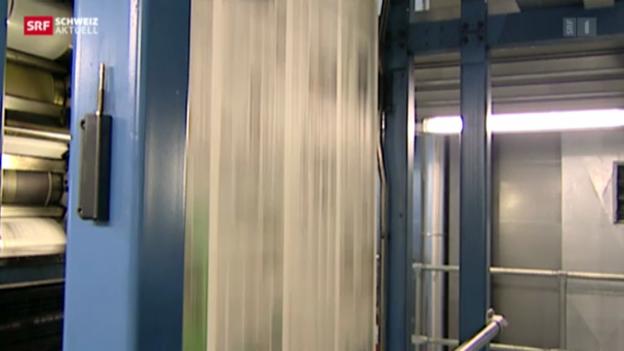 Video «Basler Zeitung schliesst ihre Druckerei» abspielen