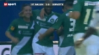 Video «Fussball: St. Gallen - Servette» abspielen