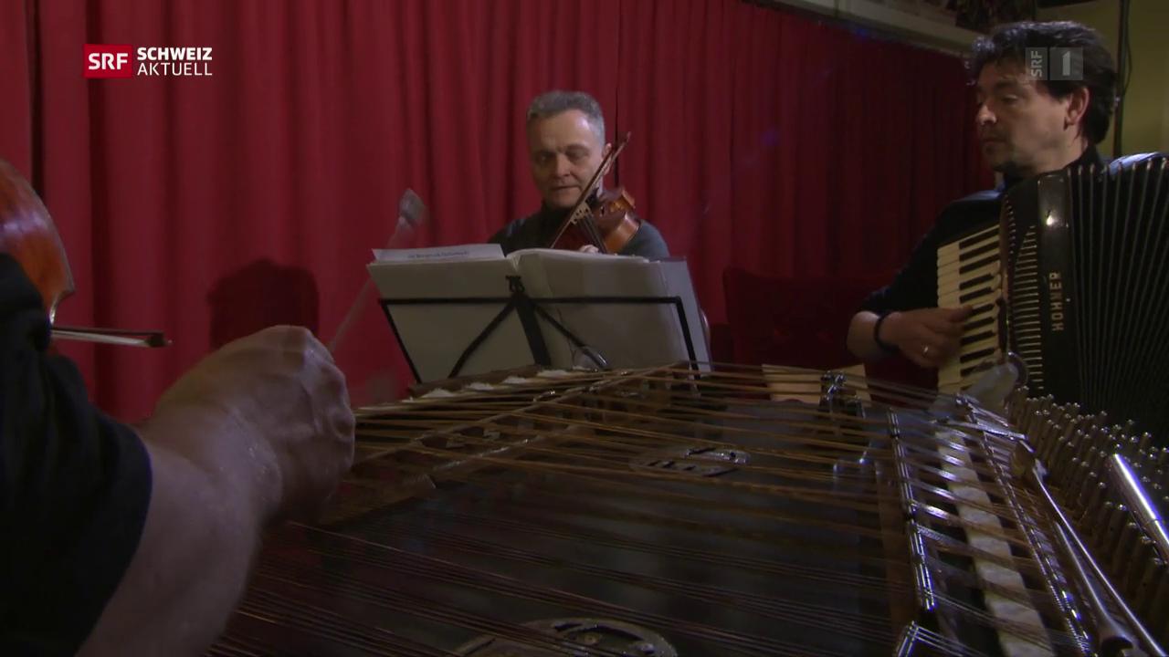 Ländler trifft auf Balkanmusik