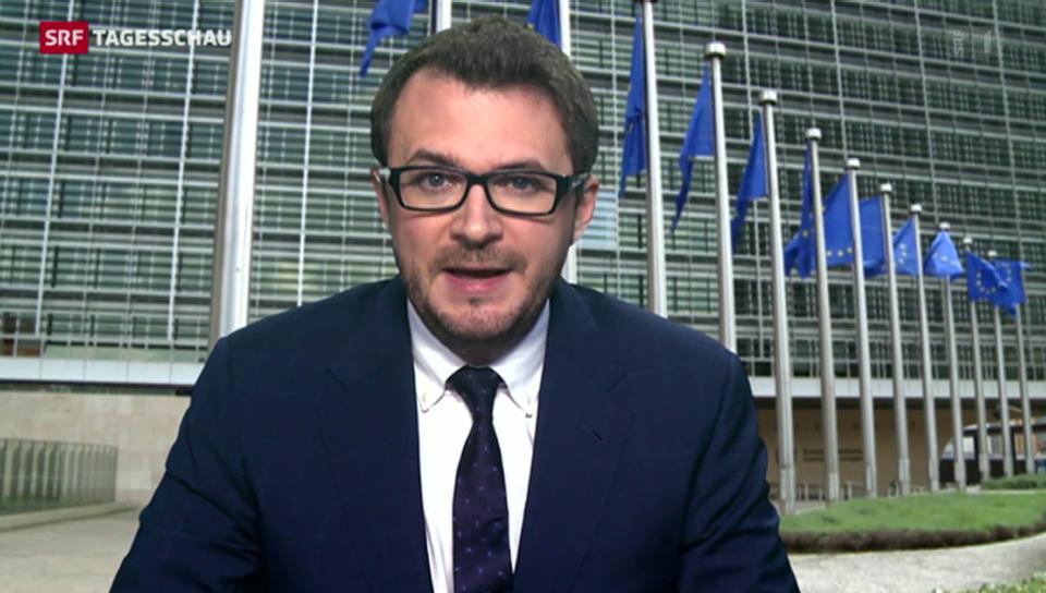 Einschätzungen von SRF-Korrespondent Rammspeck aus Brüssel.