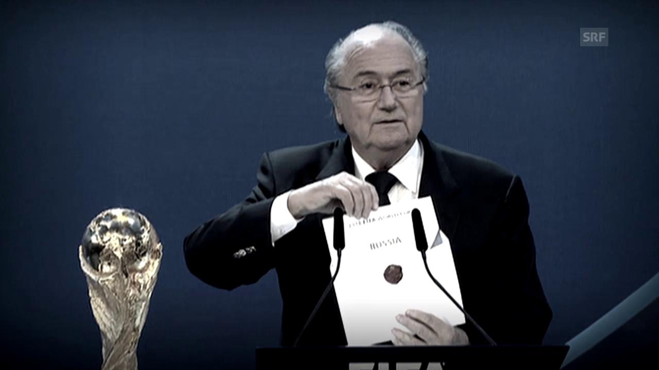 Fussball: Die Karriere von Joseph S. Blatter