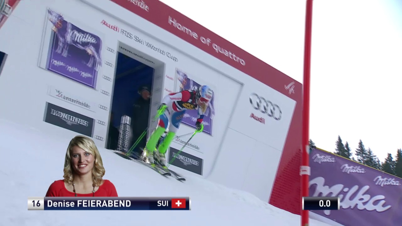Ski Alpin: Slalom Lenzerheide, 1. Lauf Feierabend («sportlive», 15.03.2014)
