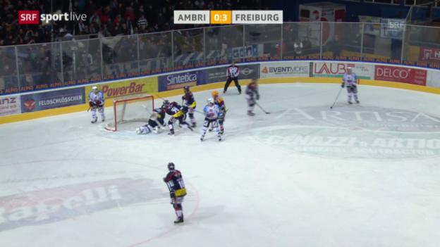 Video «Eishockey: Platzierungsrunde, Ambri - Freiburg» abspielen