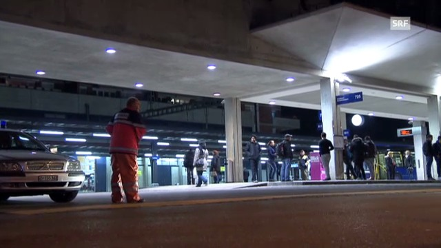 Bombendrohung am Bahnhof Uster