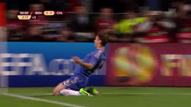 Video «Highlights Benfica-Chelsea («sportlive»)» abspielen