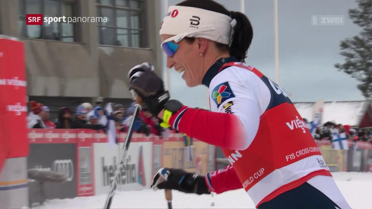 Sieg über 10 km klassisch geht an Kalla - Olympia-Ticket für Von Siebenthal