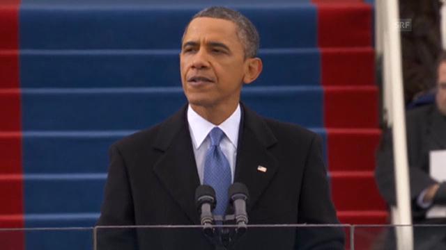 Obama über den wirtschaftlichen Aufschwung