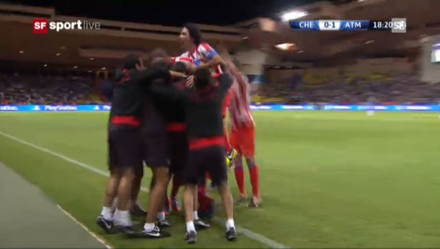 Supercup: Höhepunkte Chelsea - Atlético