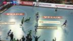 Video «Handball: Dynamo Minsk - Wacker Thun» abspielen
