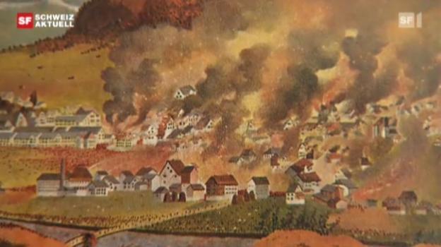 Video «Brand von Glarus» abspielen