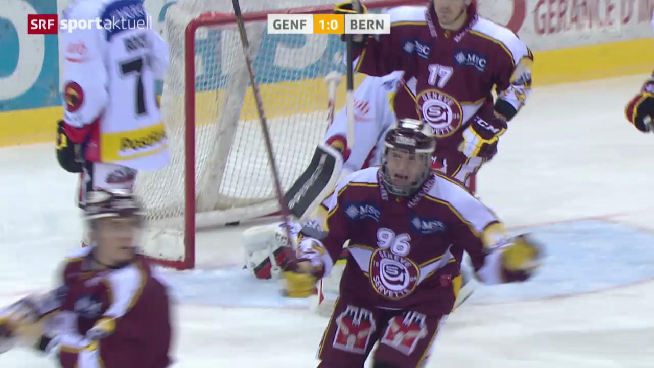 Eishockey: Genf - Bern