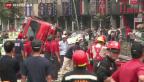 Video «Schweres Gasunglück in Taiwan» abspielen