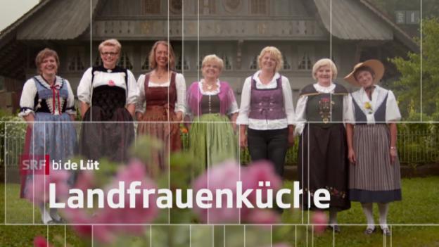 Video ««SRF bi de Lüt – Landfrauenküche» (1): Erna Köfer, Appenzell Innerrhoden» abspielen