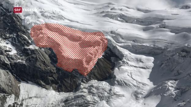 Video «Zwei Drittel des Gletschers sind abgebrochen» abspielen
