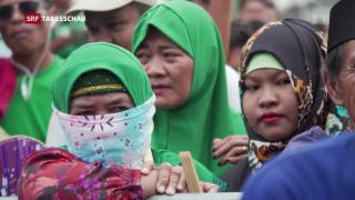 Video «Abstimmung über mehr Autonomie für Muslime» abspielen
