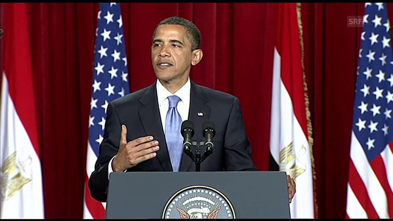 Archiv: Obama spricht zur islamischen Welt («10vor10» vom 4.6.2009)