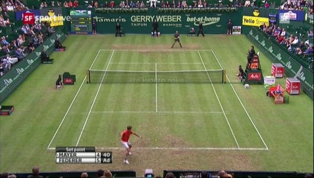 ATP Halle: Federer - Mayer