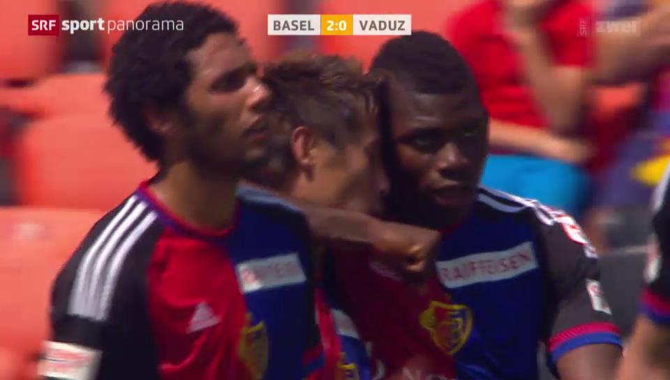 Fussball: Super League, Basel-Vaduz