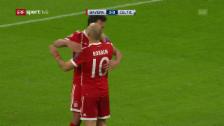 Link öffnet eine Lightbox. Video Zweiter Sieg für die Bayern unter Jupp Heynckes abspielen