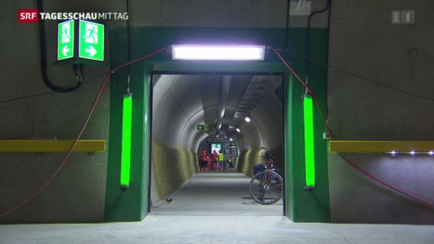 Video «Sicherheitskonzept der SBB im Gotthard-Basistunnel» abspielen