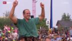 Video «Schwingen: Nordwestschweizer Schwingfest in Jonen» abspielen