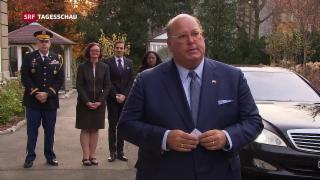 Video «US-Botschafter McMullen tritt sein Amt in Bern an» abspielen