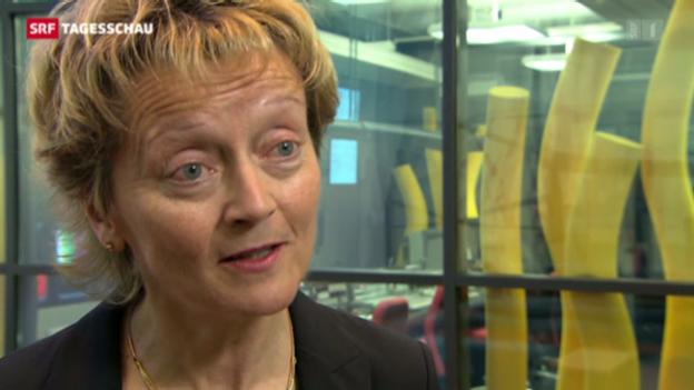 Video «Widmer-Schlumpf zur Unternehmenssteuerreform» abspielen