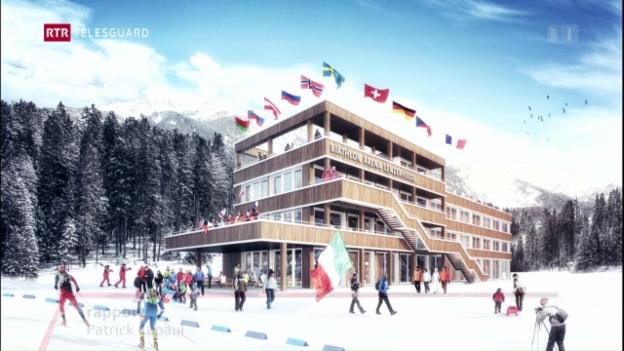 Laschar ir video «Nordic House a Lantsch»