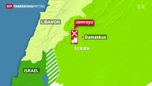 Video «Israel greift Ziele in Syrien an» abspielen