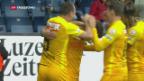 Video «Young Boys gewinnen gegen Luzern» abspielen