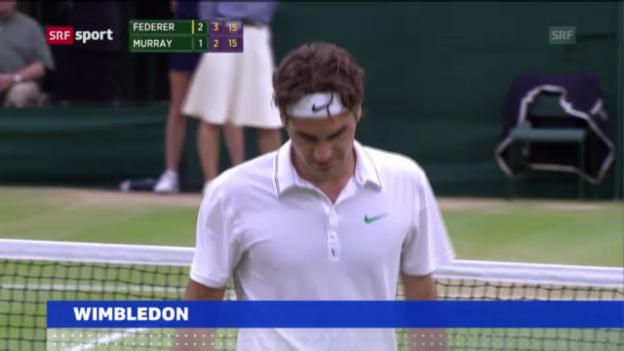 Video «Auslosung Wimbledon» abspielen