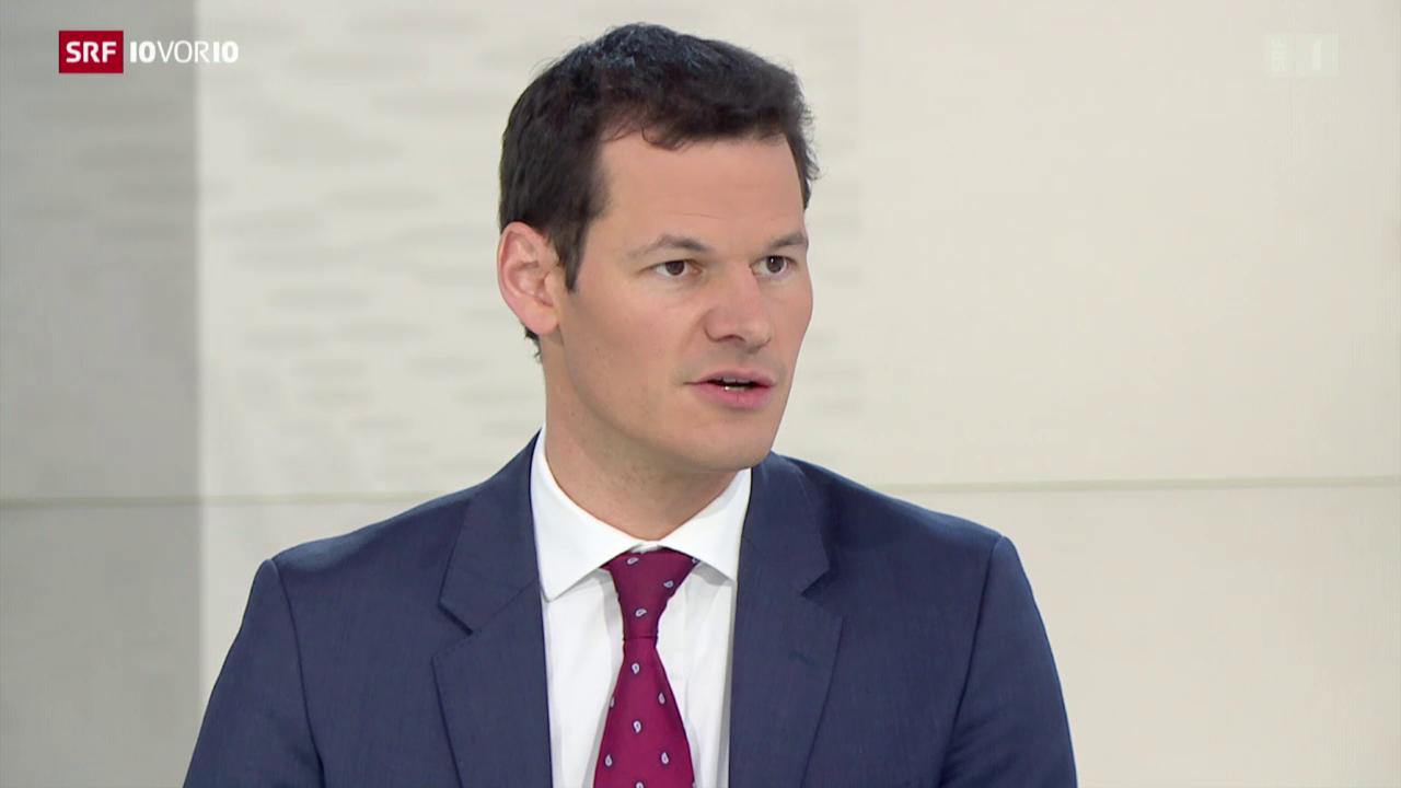 Staatsrat Pierre Maudet zur Warnstufe in Genf