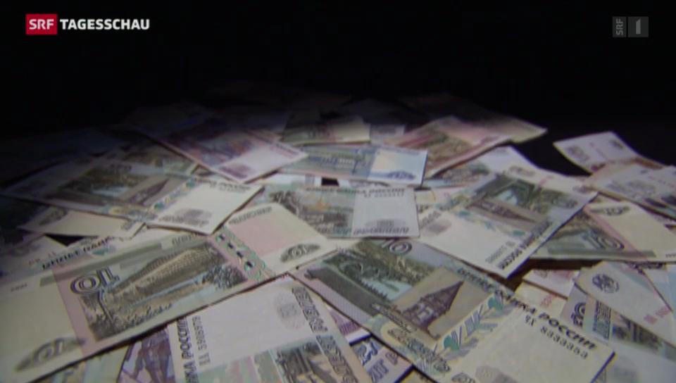 Der Rubel schwächelt massiv
