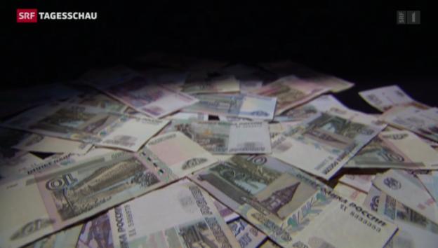 Video «Der Rubel schwächelt massiv» abspielen