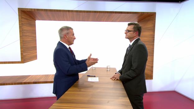 Video «Postfinance muss sich neu erfinden – CEO im Studio» abspielen