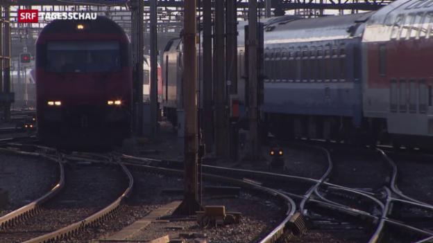 Video «Infrastruktur vernachlässigt: Milliardenaufwand für die SBB» abspielen