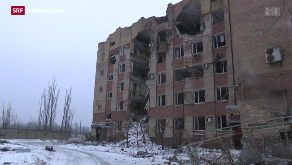 Ostukraine: Weiterhin prekäre Lage