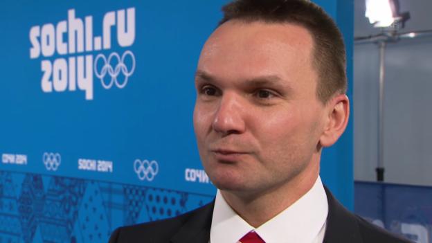 Video «Eishockey, Frauen, Kanada-Schweiz, Interview Kammerer (sotschi direkt, 8.2.2014)» abspielen