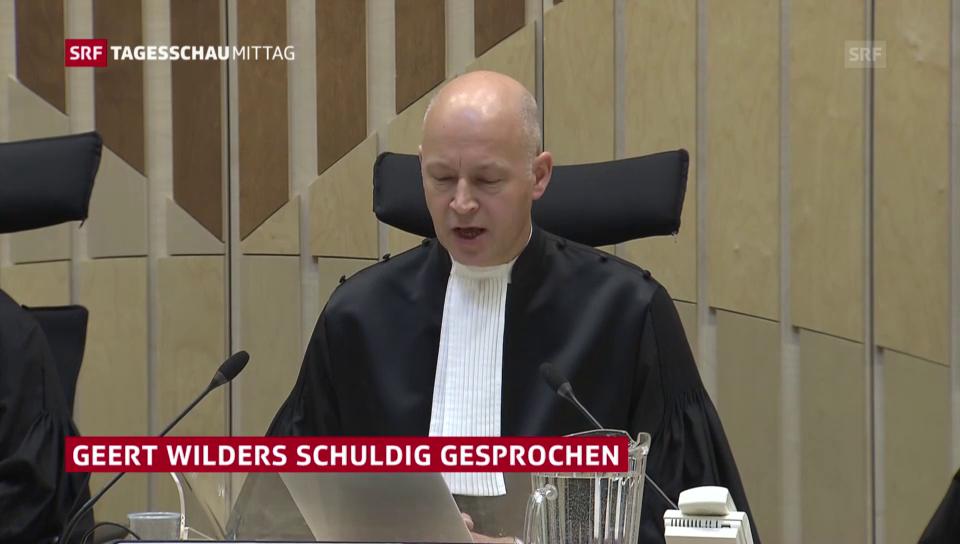 Urteil gegen Wilders