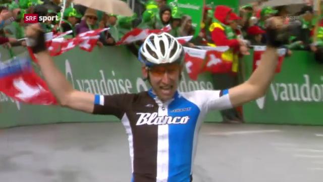 Rad: 2. Etappe der Tour de Suisse