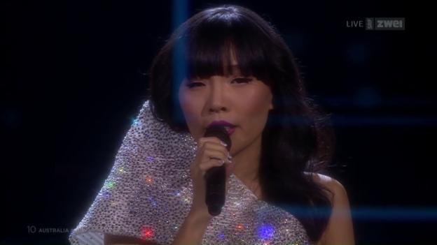 Video «#10 Australien: Dami Im mit «Sound Of Silence»» abspielen