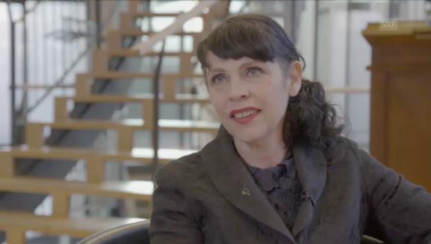 Video «Chefin der Piratenpartei im Interview mit Urs Gredig» abspielen