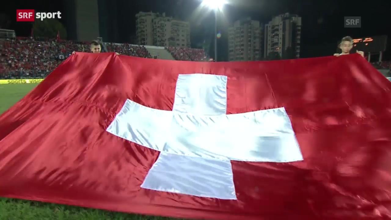 Spielbericht Albanien - Schweiz («sportaktuell»)