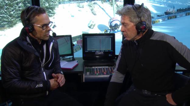 Video «Ski: Weltcup Wengen, Thesen Russi/Hüppi Teil 3» abspielen