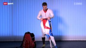 Video ««Tscheggsch de Pögg»: Was Abfahrer eigentlich darunter tragen» abspielen