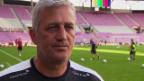 Video «Nati-Coach Petkovic über die Vorbereitung und das Belgien-Spiel» abspielen